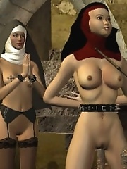 Slave nun dungeon