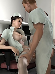 Hot 3D Bitch gets action and gets fucked by Lord