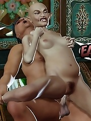 Nice Ladylove screwed by Monster